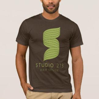 スタジオ213のTシャツの人のティー Tシャツ