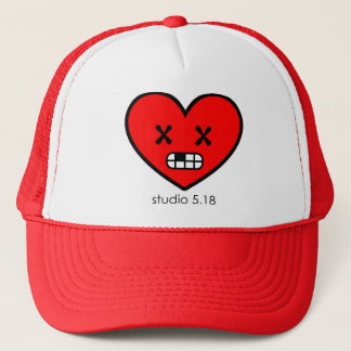 スタジオ5.18のロゴの帽子 キャップ