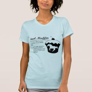 スタッドのマフィン Tシャツ