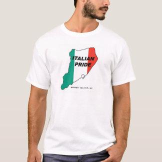 スタテン島のイタリアンなプライド Tシャツ