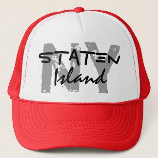 スタテン島のニューヨークNYのトラック運転手の帽子 キャップ