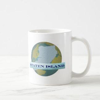 スタテン島のマグ コーヒーマグカップ