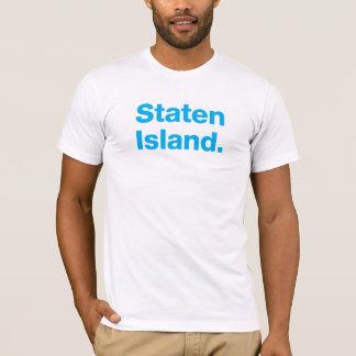 スタテン島(青緑色) Tシャツ
