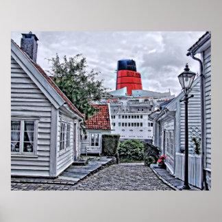 スタバンゲルのQE2 ポスター