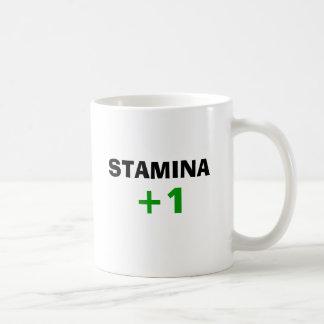 スタミナ +1 (左利き) コーヒーマグカップ