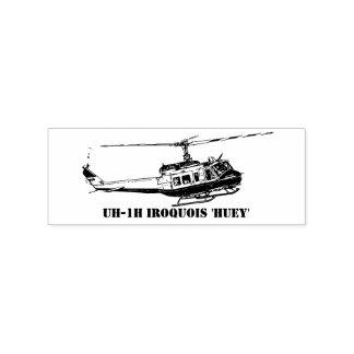 スタンプUH-1Hのイロクォイ人のヘリコプター ラバースタンプ