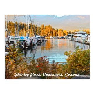 スタンレーパークのWatersideの郵便はがき ポストカード