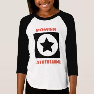 スターの力の態度のワイシャツ Tシャツ