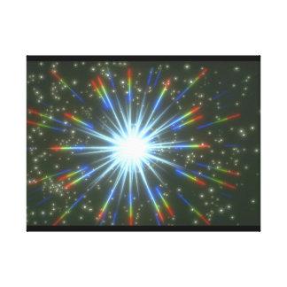スターバスト。 (スターバスト; stars_Space場面 キャンバスプリント