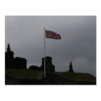 スターリングの城の旗 ポストカード