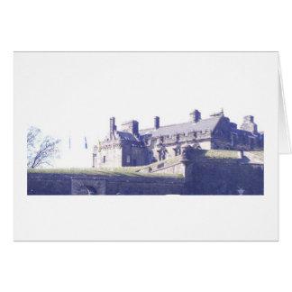 スターリングの城の眺め カード