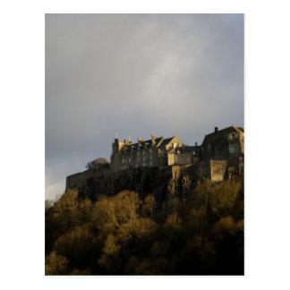 スターリングの城の11月末頃 ポストカード