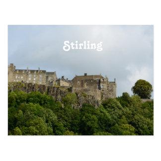 スターリングの城スコットランド ポストカード
