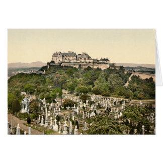 スターリングの城、スターリング、スコットランド カード