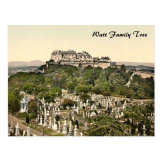 スターリングの城、スターリング、スコットランド ポストカード