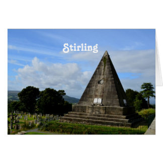 スターリングスコットランド カード