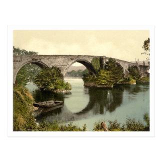 スターリング橋、スターリング、スコットランド ポストカード