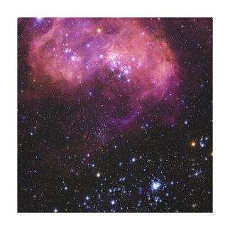 スター形成の地域N11 Magellanicの雲 キャンバスプリント