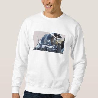 スチュワートNorthrup a17の平らで名前入りなスエットシャツ スウェットシャツ