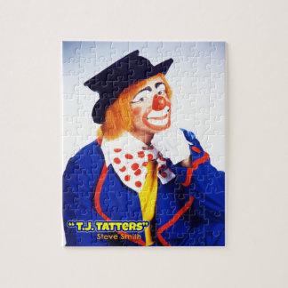 スティーブスミス、T.J. Tatters Pictureのパズルとしてピエロ ジグソーパズル