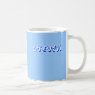 スティーブンのためのコーヒー・マグ コーヒーマグカップ