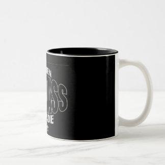 スティーブンの刃ベルトのロゴのマグ ツートーンマグカップ