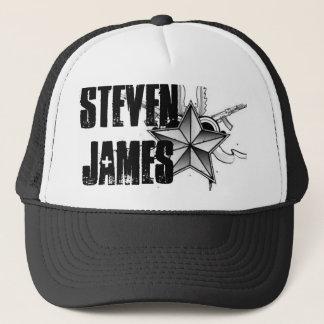 スティーブンジェームスのトラック運転手の帽子 キャップ
