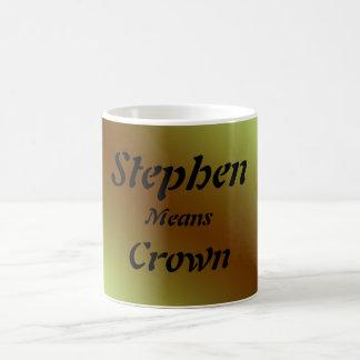 スティーブン コーヒーマグカップ