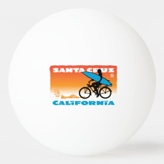 スティーブンHosmerのサーファーの女の子のオレンジ 卓球ボール