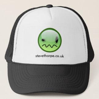スティーブThorpeの緑のにこやかな帽子 キャップ
