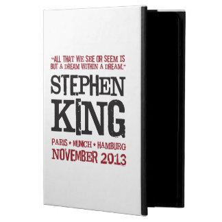 スティーヴン・キングのヨーロッパの旅行 iPad AIRケース