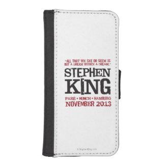 スティーヴン・キングのヨーロッパの旅行 iPhoneSE/5/5sウォレットケース
