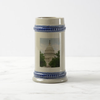 ステインを造る米国の国会議事堂 ビールジョッキ