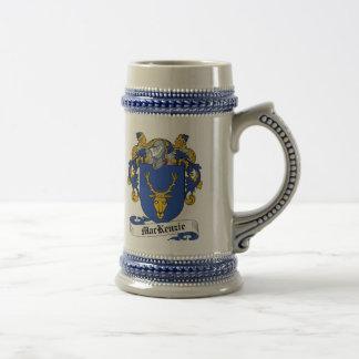 ステイン-家紋マッケンジーの紋章付き外衣 ビールジョッキ