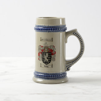 ステイン/長く家紋ステイン長い紋章付き外衣 ビールジョッキ