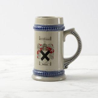 ステイン/Baldwinの家紋Baldwinの紋章付き外衣 ビールジョッキ