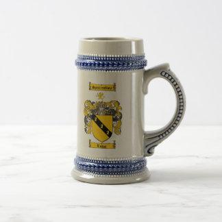 ステイン/Loweの家紋ステインLoweの紋章付き外衣 ビールジョッキ