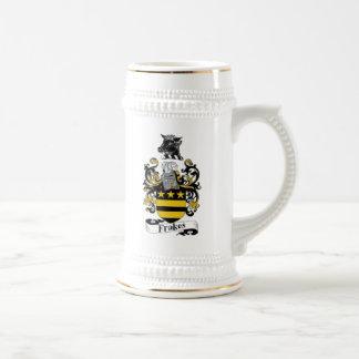 ステインFrakesの紋章付き外衣 ビールジョッキ