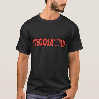 ステゴサウルスのシルエットのTシャツ Tシャツ