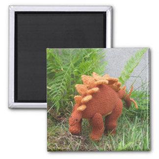 ステゴサウルスの冷蔵庫用マグネット マグネット
