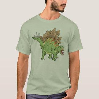 ステゴサウルスの恐竜のTシャツ Tシャツ