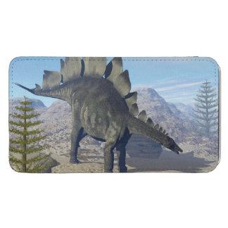 ステゴサウルスの恐竜- 3Dは描写します GALAXY S5 ポーチ
