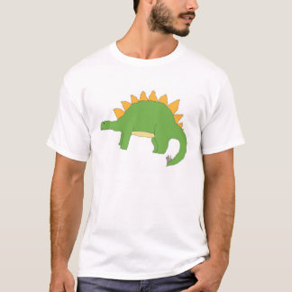 ステゴサウルスの服装 Tシャツ
