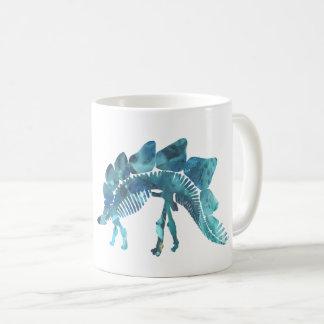 ステゴサウルスの骨組 コーヒーマグカップ