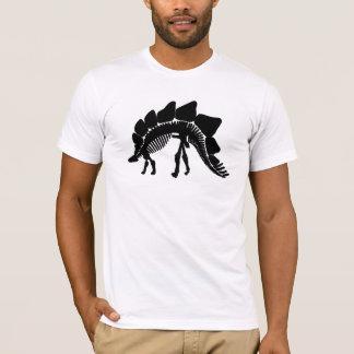 ステゴサウルスの骨組 Tシャツ