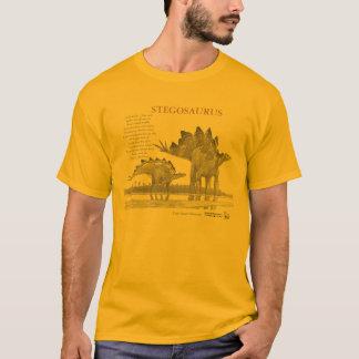 ステゴサウルス恐竜のグレゴリーあなたの内部のポールのワイシャツ Tシャツ