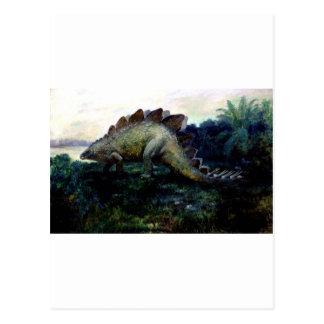 ステゴサウルス4 ポストカード