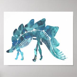 ステゴサウルス ポスター