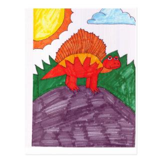 ステゴサウルス ポストカード