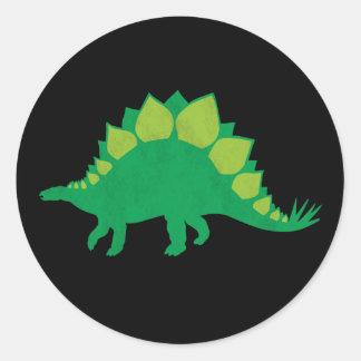 ステゴサウルス ラウンドシール